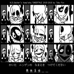 Show your Gaster by AnicMJ