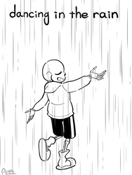dancing in the rain by AnicMJ
