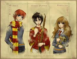 HP The Trio by hakumo