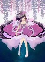 SS: Fleeting Wisteria by hakumo