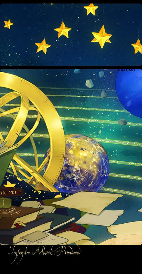 Infinite Artbook: preview by hakumo