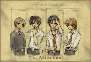 The Marauders by hakumo