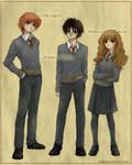 Harry Potter by hakumo