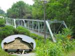 Venango Veterans Memorial Bridge With Plaque Inset by historicbridges