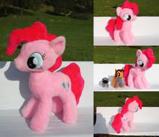 [My Little Pony: FiM] GIANT Pinkie Pie plushie by NekoRushi