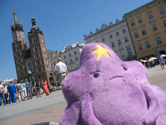 [Adventure Time] LSP visits Poland, not amused by NekoRushi