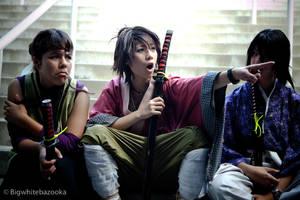 Hakuouki: Okita being Okita by SoySauceCosplay