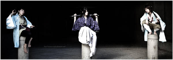 Hakuouki: 3 times the power by SoySauceCosplay