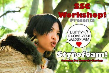 TUTORIAL: Styrofoam by SoySauceCosplay