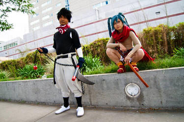 Disgaea: On his way by SoySauceCosplay