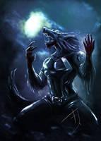 werewolf by Betacarrier