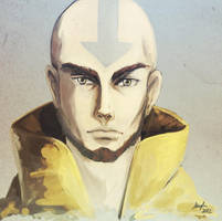 Avatar Aang by Zefy