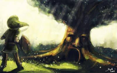 Tloz - Deku Tree by Zefy