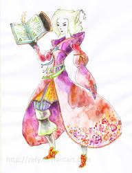 Scholar Inori by Zefy
