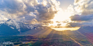 Sunlight 2 by PNWDronetography