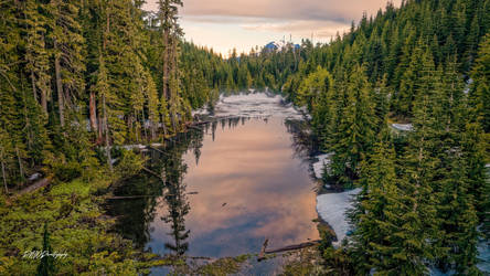 Segelson Lake by PNWDronetography