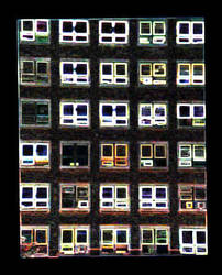 Neon Windows by leftyehud