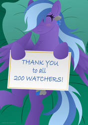 200 Watchers Special! by LavenderRain24