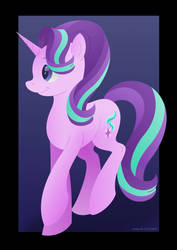 Starlight Glimmer [Speed-paint Included!] by LavenderRain24