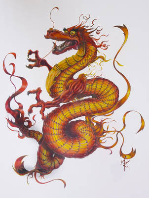 Long Wang - King Dragon by kaltblut