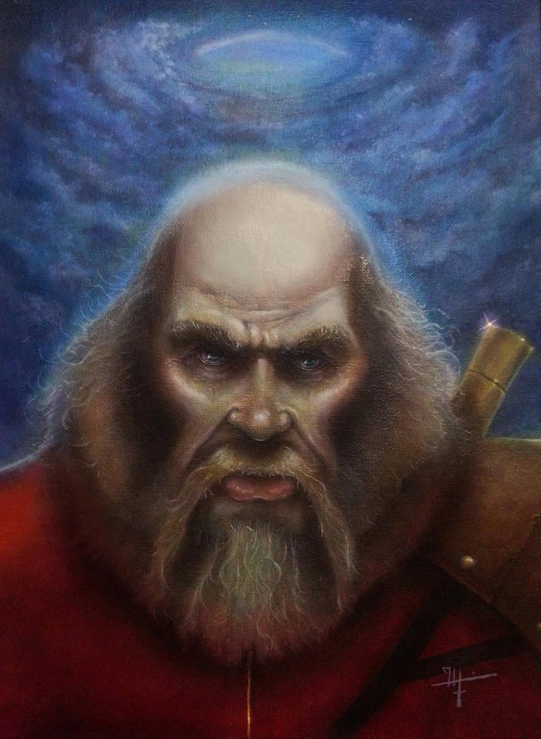 Oek Baal The Wizard by kaltblut