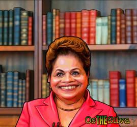 Dilma 2014 by kaltblut