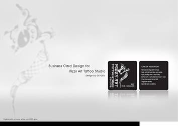 Tattoo Business Card by congolim