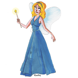 The Blue Fairy by joodling