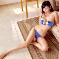 Anri Sugihara - blue felt bikini by Anri-Sugihara