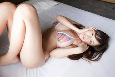 Anri Sugihara - beauty on the bed by Anri-Sugihara