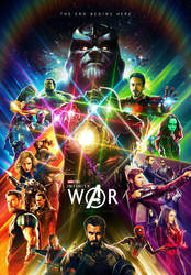 Avengers: Infinity War (2018) | Variant Poster by Hyperfinity