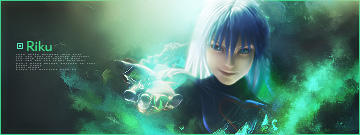 Riku Kingdom Hearts signature by lady-alucard