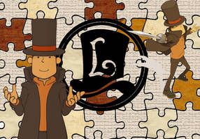 Professor Layton Wallpaper by mAt-Vicky