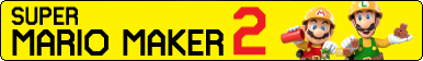 Super Mario Maker 2 Fan Button by Awesomeman235ify