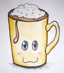 Coffee cup by Ellana7125