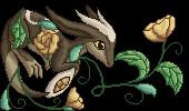Khrim flower pixel by embea