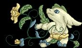 Lettuce flower pixel by embea