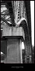 The George Washington Bridge by melzilla