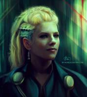 Lagertha / Vikings by cinetrix