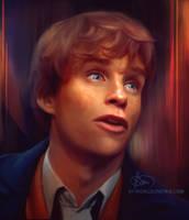 Newt Scamander / Eddie Redmayne by cinetrix