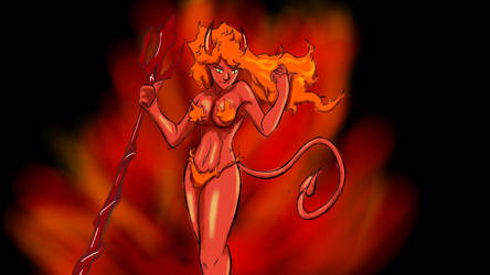 hot stuff by Gamer-Minstrel