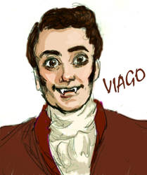 Viago (What we do in the shadows) by TheSpaceBabe