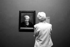Head of an Old Woman by ZiaulKareem