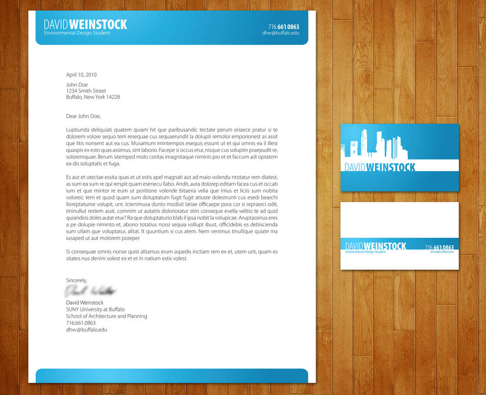 Business Card And Letterhead By Thebassment On Deviantart