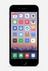 Second iOS 8 Screenshot by theBassment