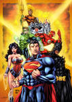 The Justice League by RobertoAGM