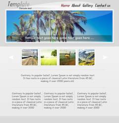 Simple Sleek Template by azaxcg