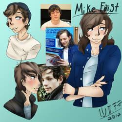 Mike Faist Doodles by appletart370