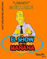 Lagarto Guizzardi (simpsonizado) by mauriart