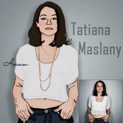 Tatiana Maslany by TushistoriaS2